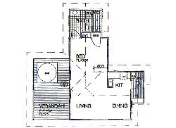 Moonlight Hilltop Spa Lodge Floor Plan