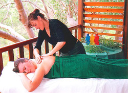 Pampering massage by qualified masseur