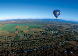 Hot air ballooning over Mareeba - Image courtesy of Tourism Queensland